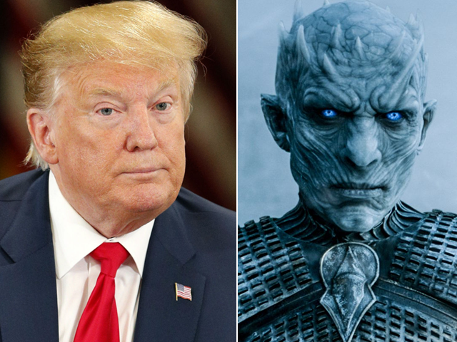 HBO asks Trump to stop using 'Game of Thrones' memes