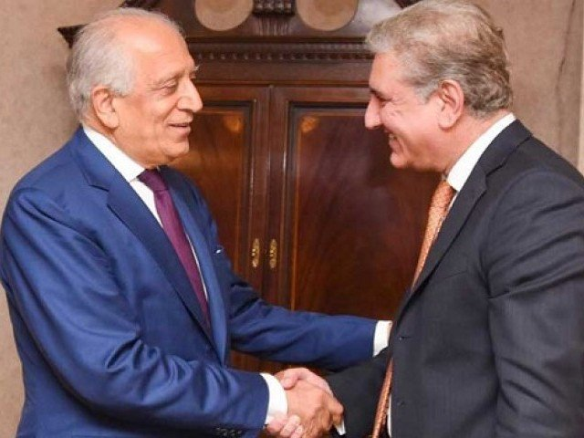 Qureshi tells Khalilzad intra-Afghan dialogue key to peace