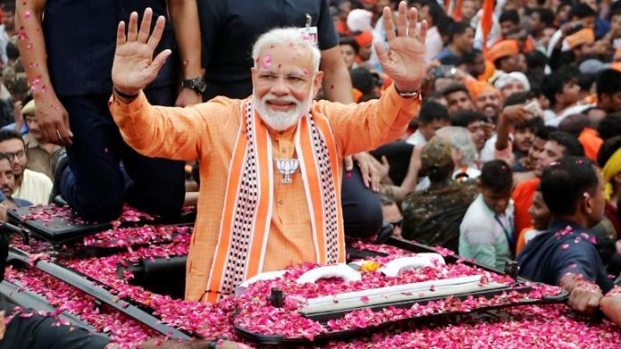 Indian PM Modi sweeps to 'massive' election win, party says