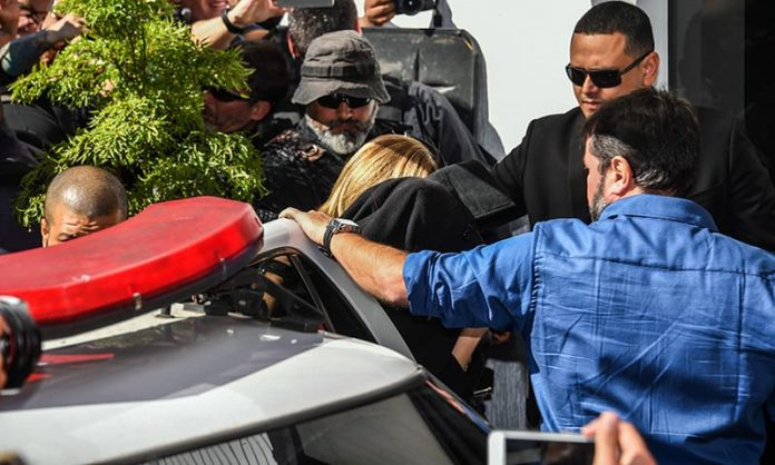 Woman who accuses Neymar of rape gives police statement