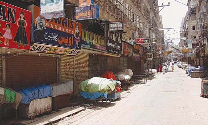 Traders observe nationwide strike to resist govt drive to document commercial activity