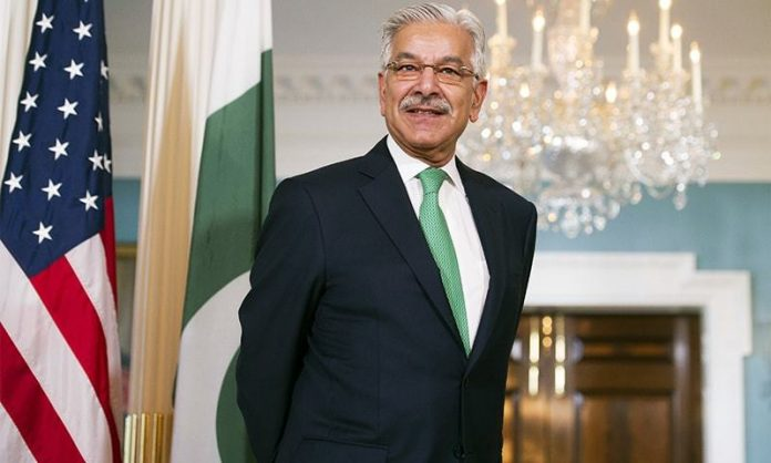 Govt decides to probe Khawaja Asif for 'posing security risk to Pakistan'