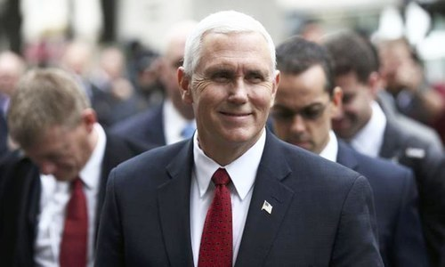Pence urges Pakistan to release professor accused of blasphemy