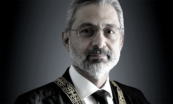 Isa writes to CJP for provision of evidence against him