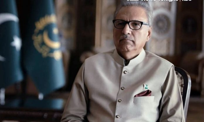 Twitter receives complaint about President Alvi's tweet on Srinagar, says it does not violate rules
