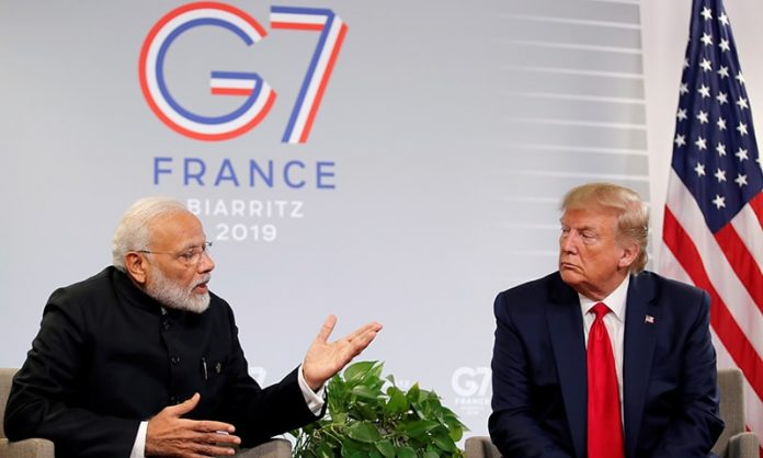 Trump says India, Pakistan can handle Kashmir dispute on their own