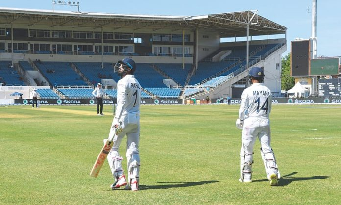 Debutant Cornwall strikes for WI against India
